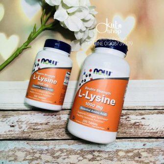 vien-uong-bo-sung-l-lysine-kich-thich-san-sinh-collagen-now-l-lysine-1000mg-100-250-vien