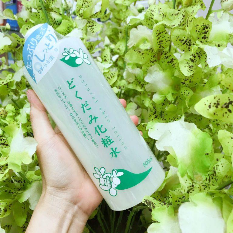 Nước Hoa Hồng Trị Mụn Dokudami Natural Skin Lotion 500ml 3